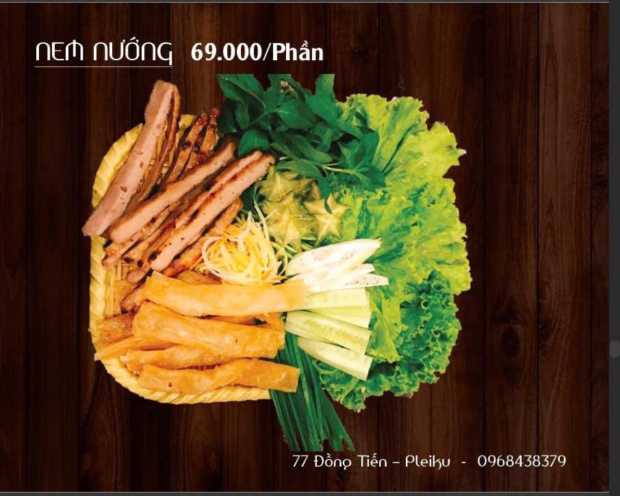 Bánh Tráng Thịt Heo 77 Đồng Tiến