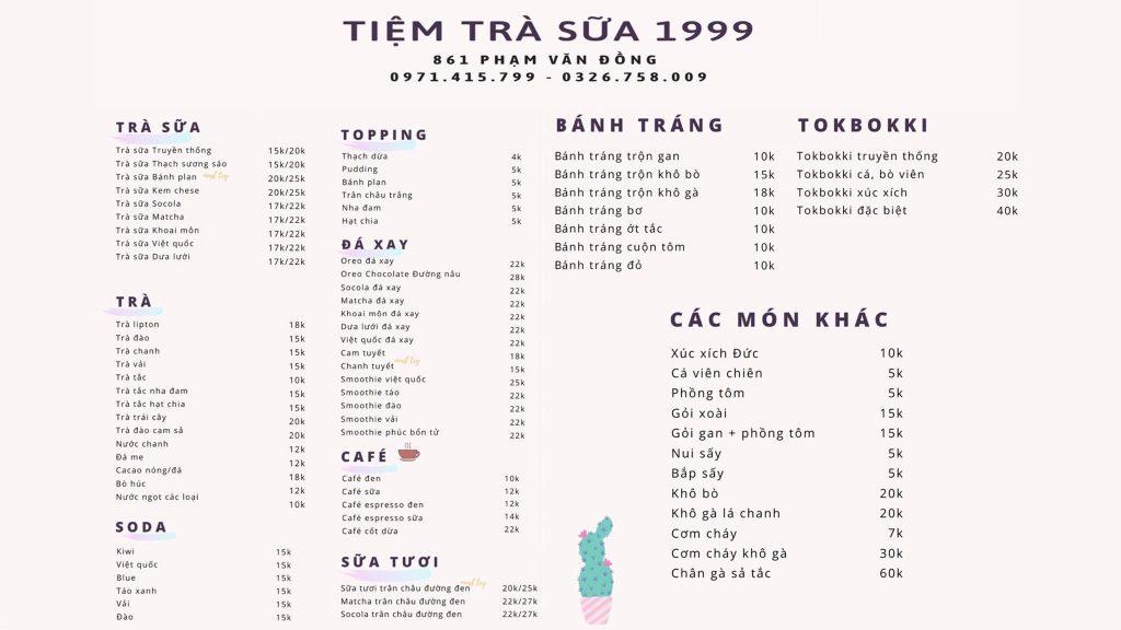 Tiệm Ăn Vặt 1999 – Gia Lai