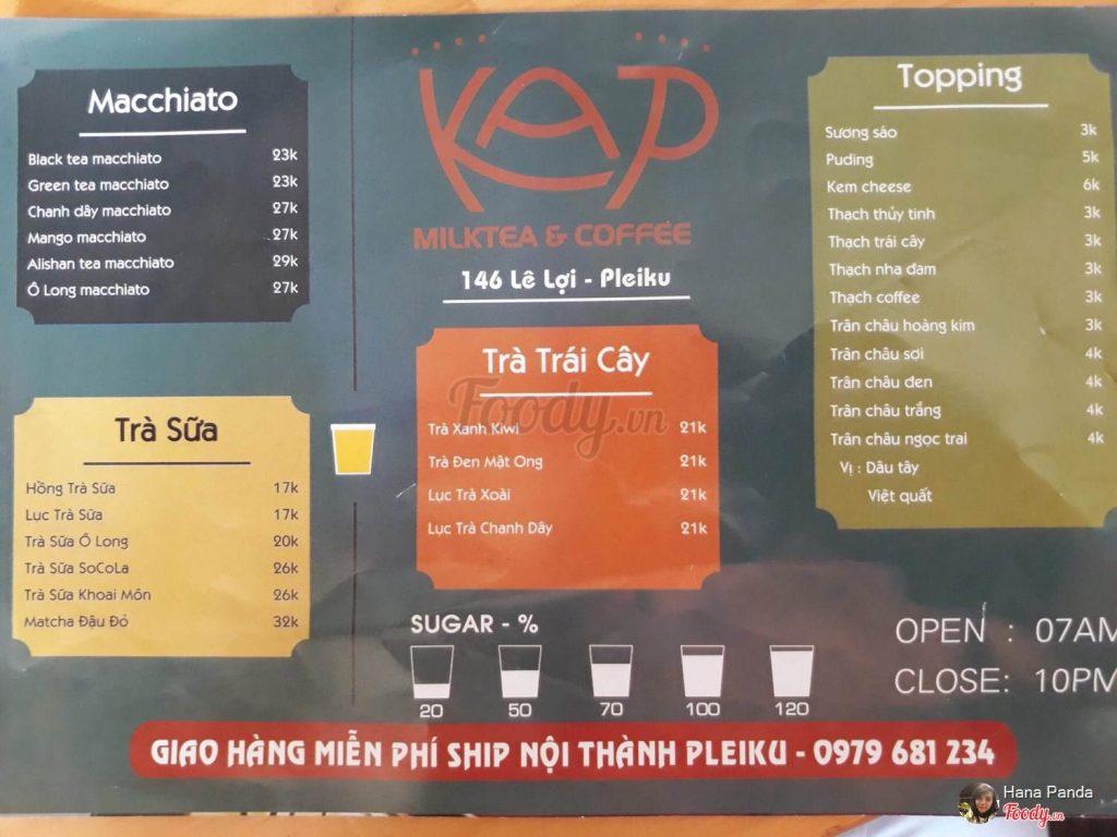 KAP Milk Tea & Coffee