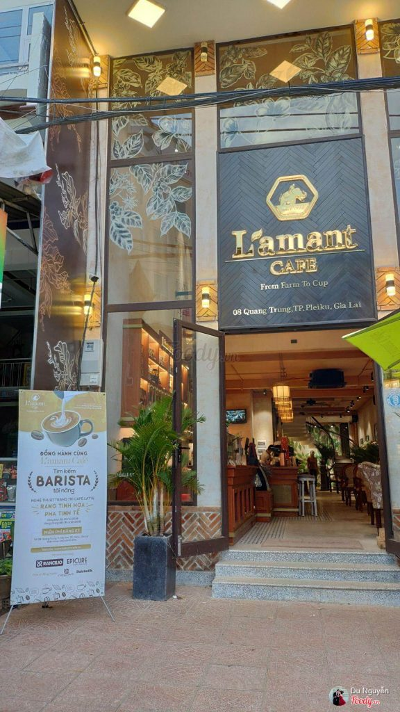 L'amant Cafe - Cafe Organic