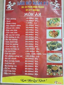 Lẩu Nấm Bò 93 - Phan Đình Phùng